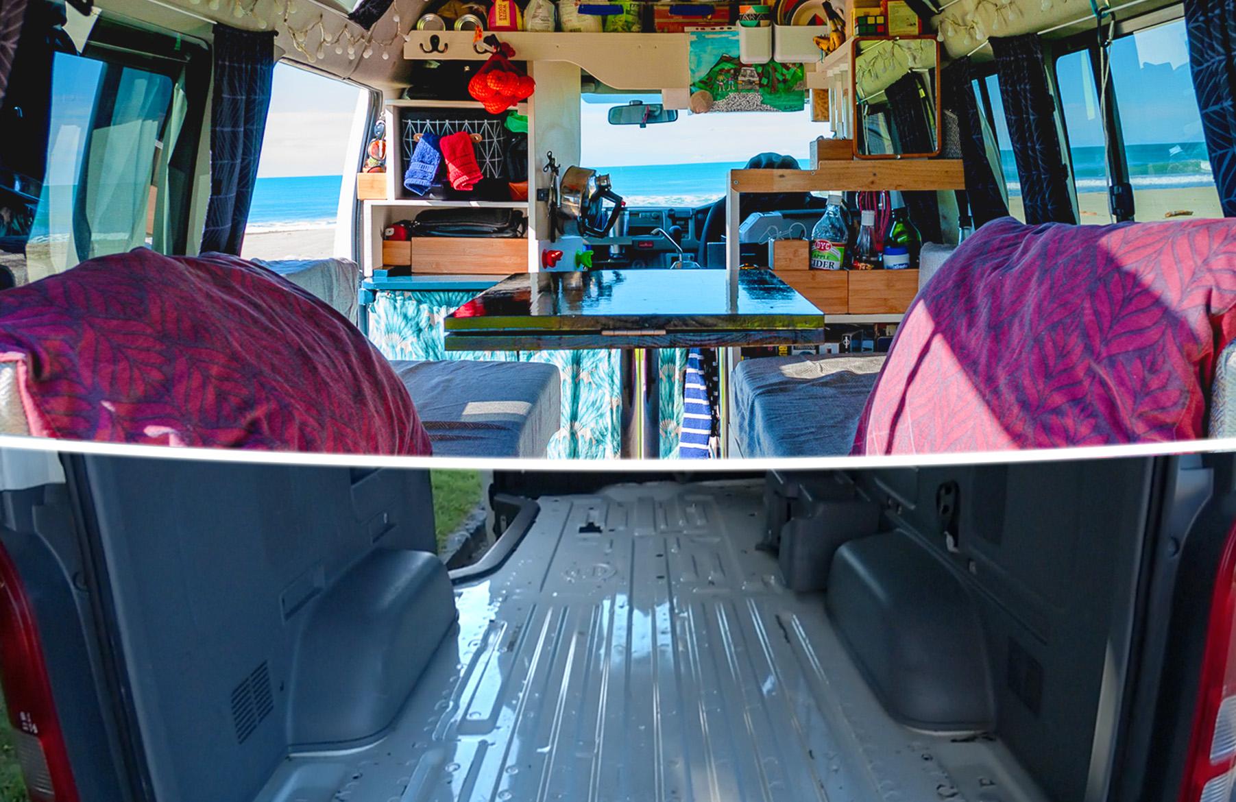 L'aménagement de notre van